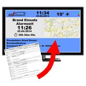 Faxauswertung und Monitor-Steuerung – ohne zusätzliche Hardware!