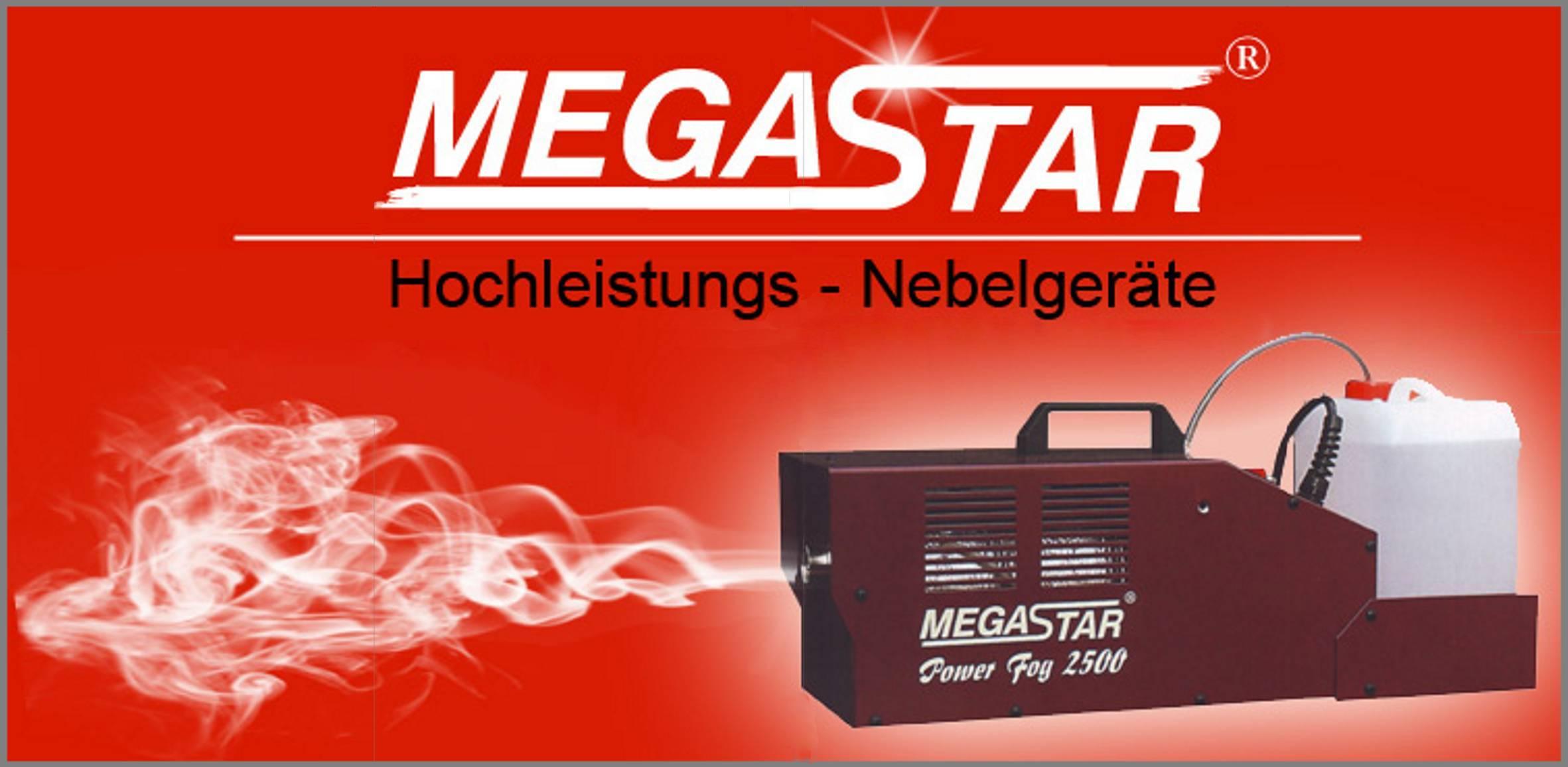Megastar Power Fog – Feuerwehr Nebelmaschine