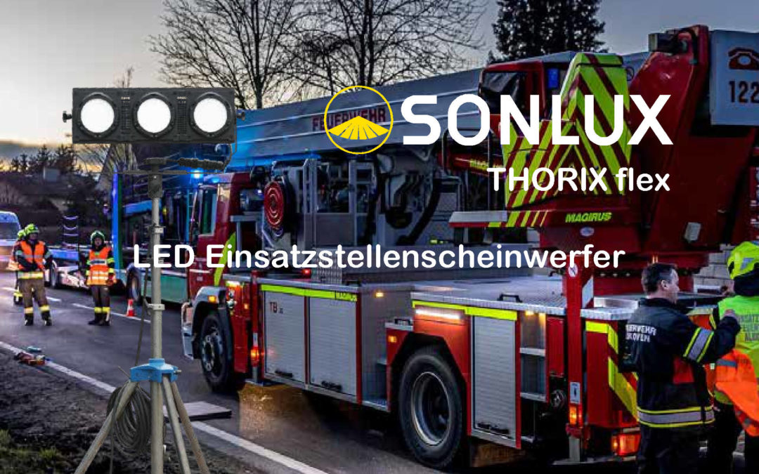 Sonlux THORIX Flex – LED Strahler für unterwegs